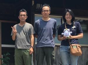 with akiyamasan
