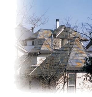 無添加住宅オリジナル石屋根(クールーフ)イメージ 神戸市・明石市の注文住宅工務店 モスハウス田端