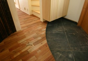 アカシア渋柿 施工例|無添加住宅オリジナルフローリング床材|神戸市・明石市のモスハウス田端