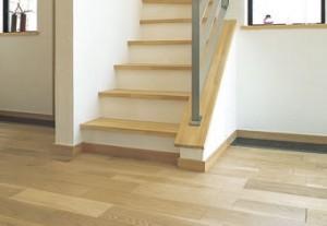 ナラ(オーク) 施工例|無添加住宅オリジナルフローリング床材|神戸市・明石市のモスハウス田端