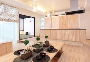 シンゴン集成フロア 施工例|無添加住宅オリジナルフローリング床材|神戸市・明石市のモスハウス田端