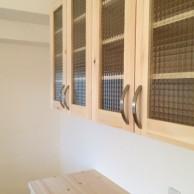 ガラスキャビネット|神戸市須磨区のマンションリノベーション 無添加住宅専門モスハウス田端の施工事例