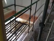 淡路市東浦の注文住宅 アイアン手すり|無添加住宅専門モスハウス田端の現場中継