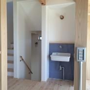 2階設備 手洗器|兵庫県淡路市の注文住宅 無添加住宅専門モスハウス田端の施工事例