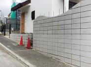 道路沿いの塀|明石市東野町の注文住宅 無添加住宅専門店モスハウス田端