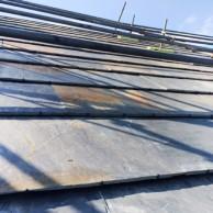 淡路市東浦の注文住宅 天然石の屋根 クールーフブラウン|無添加住宅専門モスハウス田端の現場中継