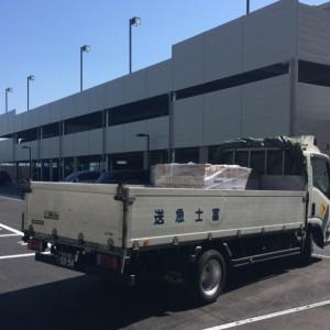 床材搬入|神戸市西区のマンションリノベーション モスハウス田端