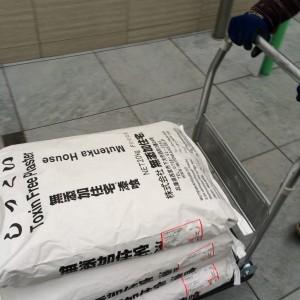リノベーションにも無添加住宅のオリジナルしっくいを使用|神戸市西区のマンションリノベーション モスハウス田端