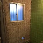 タイル解体|神戸市のモスハウス田端 浴室リノベーション施工事例