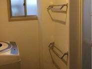 脱衣所 施工後|神戸市のモスハウス田端 浴室リノベーション施工事例