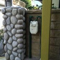 ガスメーターをお施主様が塗装。|神戸市垂水区の戸建てリノベーション モスハウス田端