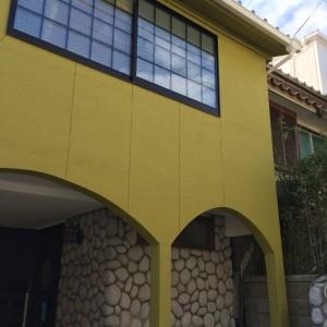 窓はペアガラスのサッシに入れ替え。|神戸市垂水区の戸建てリノベーション モスハウス田端