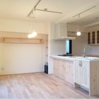 リビング|神戸市須磨区のマンションリノベーション 無添加住宅専門モスハウス田端の施工事例