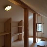 ロフト空間|明石市東野町の注文住宅 無添加住宅モスハウス田端の施工事例