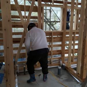 防腐防蟻剤はホウ酸由来の人体に安全なボロンdeガード|神戸市西神中央の注文住宅 モスハウス田端の現場中継