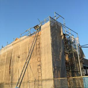 無添加住宅を代表する建材のひとつ、クールーフ。|神戸市垂水区塩屋町の注文住宅 モスハウス田端の現場中継