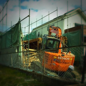 解体工事から。|神戸市垂水区塩屋町の注文住宅 モスハウス田端の現場中継