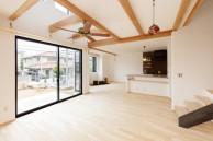 現しの梁|神戸市西区の注文住宅 無添加住宅専門モスハウス田端の施工事例