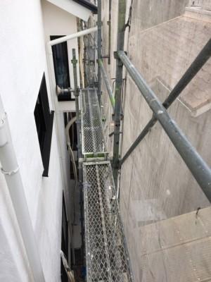 外壁のしっくい塗り|神戸市須磨区でリノベーション工事 無添加住宅専門モスハウス田端