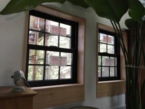 上げ下げ窓を増設。|神戸市須磨区でリノベーション工事 無添加住宅専門モスハウス田端