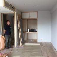 和室だった部屋をリビングと一続きに。|神戸市灘区のマンションリノベーション 無添加住宅専門店モスハウス田端
