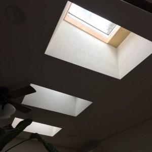 窓サッシの入れ替え リビングのトップライト|神戸市須磨区でリノベーション工事 無添加住宅専門モスハウス田端