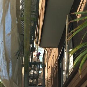 炭化コルクの施工|神戸市須磨区でリノベーション工事 無添加住宅専門モスハウス田端