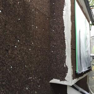 モルタルしっくいの施工|神戸市須磨区でリノベーション工事 無添加住宅専門モスハウス田端