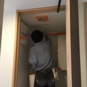 無添加住宅オリジナル漆喰を使用したしっくい塗り|神戸市灘区のマンションリノベーション 無添加住宅専門店モスハウス田端