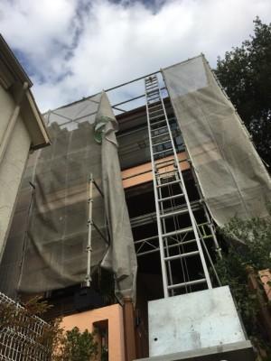 まずは屋根工事から。|神戸市須磨区でリノベーション工事 無添加住宅専門モスハウス田端