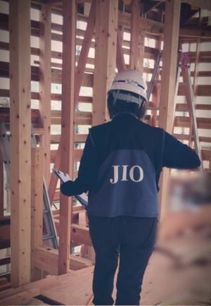 JIO 中間検査 神戸市垂水区塩屋町の注文住宅 モスハウス田端の現場