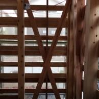 ダブルの筋交い 神戸市垂水区塩屋町の注文住宅 モスハウス田端の現場