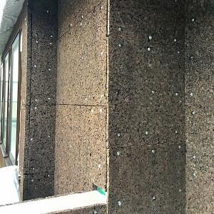 炭化コルク|西宮市名塩の注文住宅 無添加住宅専門モスハウス田端の【現場中継】