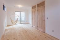神戸市 垂水区 注文住宅 子供部屋 しっくいの家