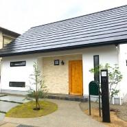 稲美町の無添加住宅アプローチ