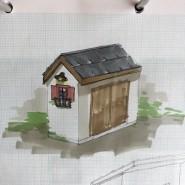 石屋根の小屋のイメージ