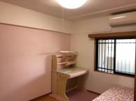 色漆喰 ピンクの壁