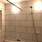 浴室タイル ラテウェーブ