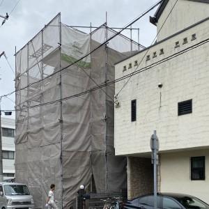 外壁しっくいメンテナンス工事